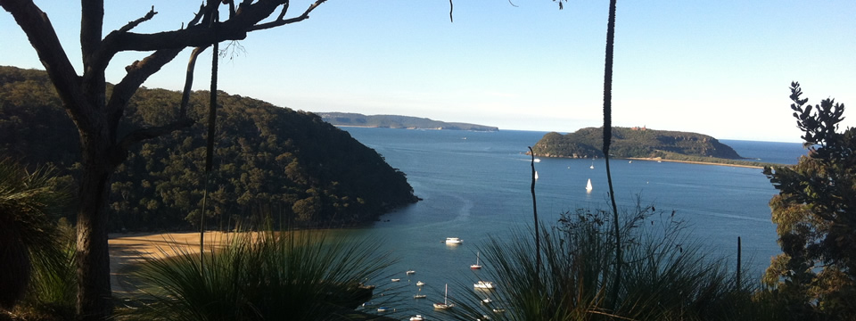 View from Currawong to Palm Beach